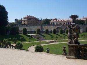 Blick auf die Orangerie