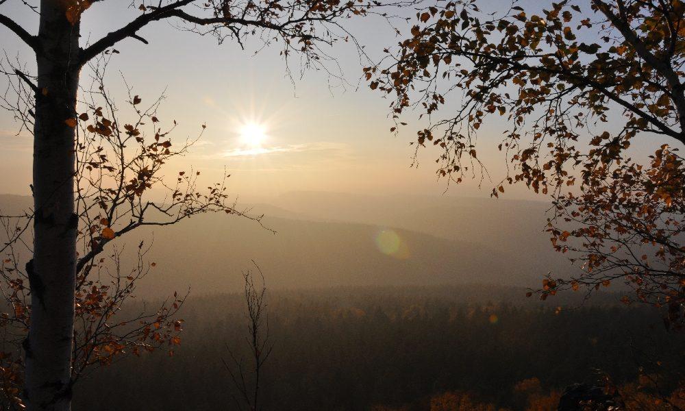 Die Sächsische Schweiz im Kleinen - Zur Barbarine auf den Pfaffenstein