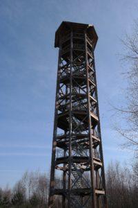 Haselbergturm in der Königsbrücker Heide