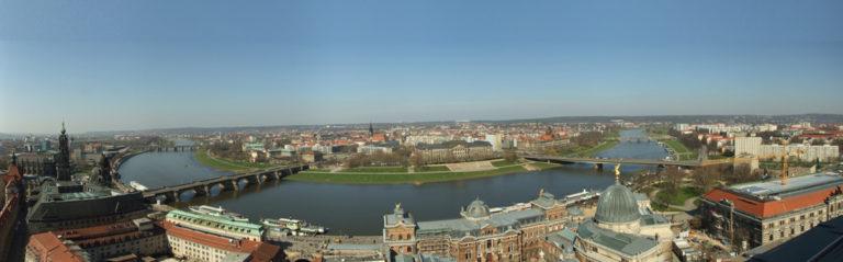 Blick von der Frauenkirche Dresden