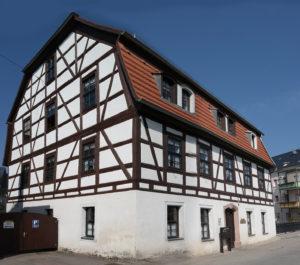 Das Tuchmacherhaus in Hainichen