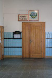 In Erinnerung an alte Zeiten - Bahnhofshalle Hainichen