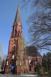 Die Trinitatiskirche in Hainichen