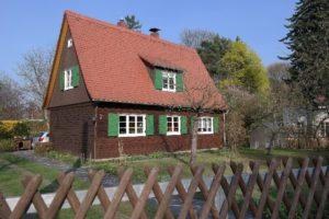 typisches Wohnhaus in Hellerau