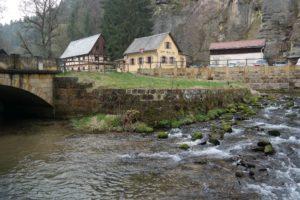 Die Neumannmühle - Start und Ziel der Wanderung