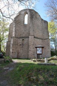 Burgsteinruine - Eine Spätmittelalterliche Kirche