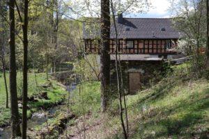 Kienmühle im Kemnitzbachtal