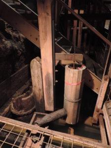 Rekonstruktion eines Teil der Pumpentechnik