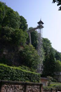 Freistehender Personenaufzug Bad Schandau