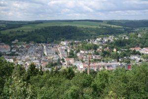 Elsterberg vom Kriebelstein aus gesehen