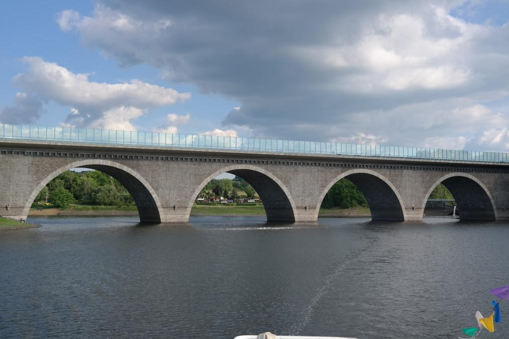 Autobahnbrücke Talsperre Pöhl