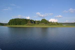Schlosshalbinsel Talsperre Pöhl