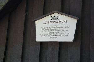 Zinnpochwäsche im Bergbaumuseum Altenberg