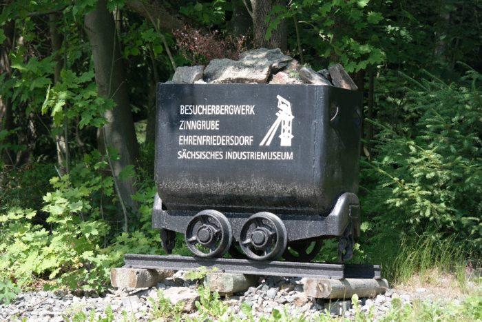 Auf ins Besucherbergwerk Ehrenfriedersdorf