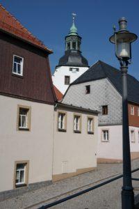 Altstadt Lauenstein mit Kirche