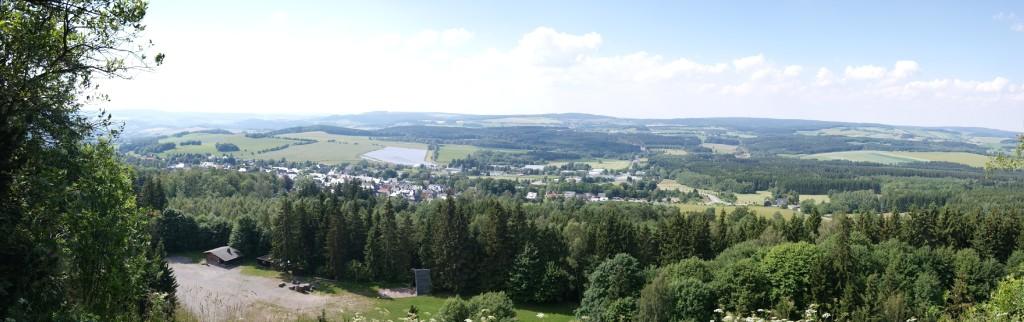 Ausblick vom Scheibenberg