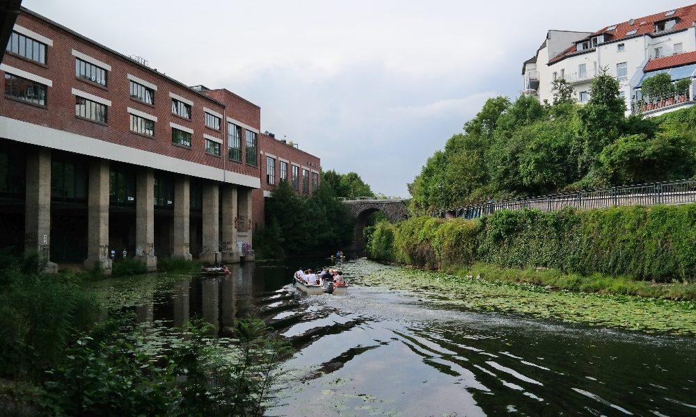Mit dem Sturmvogel unterwegs auf Leipzigs Wasserwegen