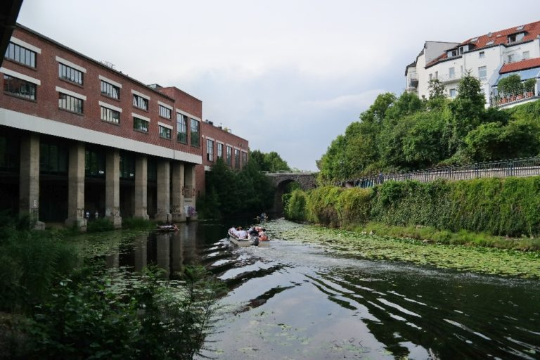 Stelzenhaus am Heinekanal
