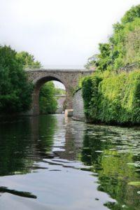 Bootsfahrt auf dem Heine-Kanal