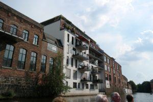 Alte Fabrikgebäude als großzügige Wohnungen