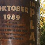 Das Wendedenkmal in Plauen und meine ganz persönliche Wendeerinnerung