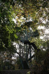 Der Rosentalturm von unten