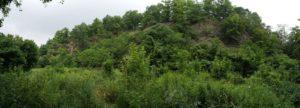 Steinbruch mit ehemaligem Bunker in der Dresdner Heide