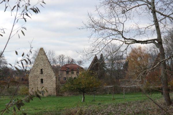 Kornhäuser im Klosterpark Altzella