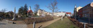 Panorama Marktplatz Rabenau