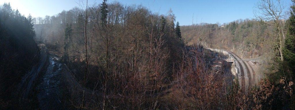 Blick vom Max-Anders-Steig in den Rabenauer Grund