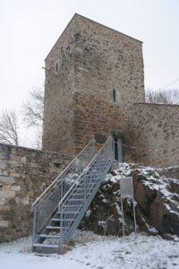 Eulen- oder Hungerturm im Schloss Klippenstein
