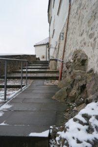 Reitertreppe im Schloss Klippenstein
