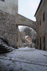 Innenhof des Schloss Klippenstein