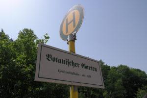 Haltestelle der Kirnitzschtalbahn