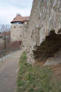 Mühlbastei mit Stadtmauer