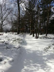 Einsame Wanderpfade