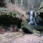 Ein Beruf mit Zukunft - Der Wasserfallzieher am Lichtenhainer Wasserfall