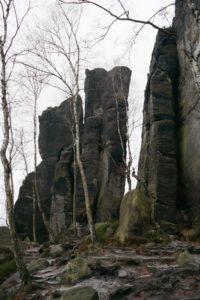 Grottenwand auf dem Frienstein