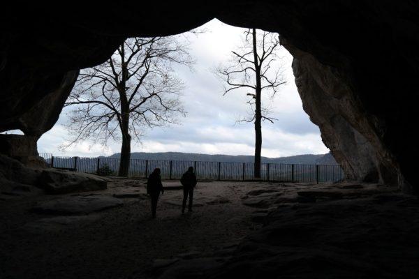 Der Kuhstall - das größte Felsentor der Sächsischen Schweiz
