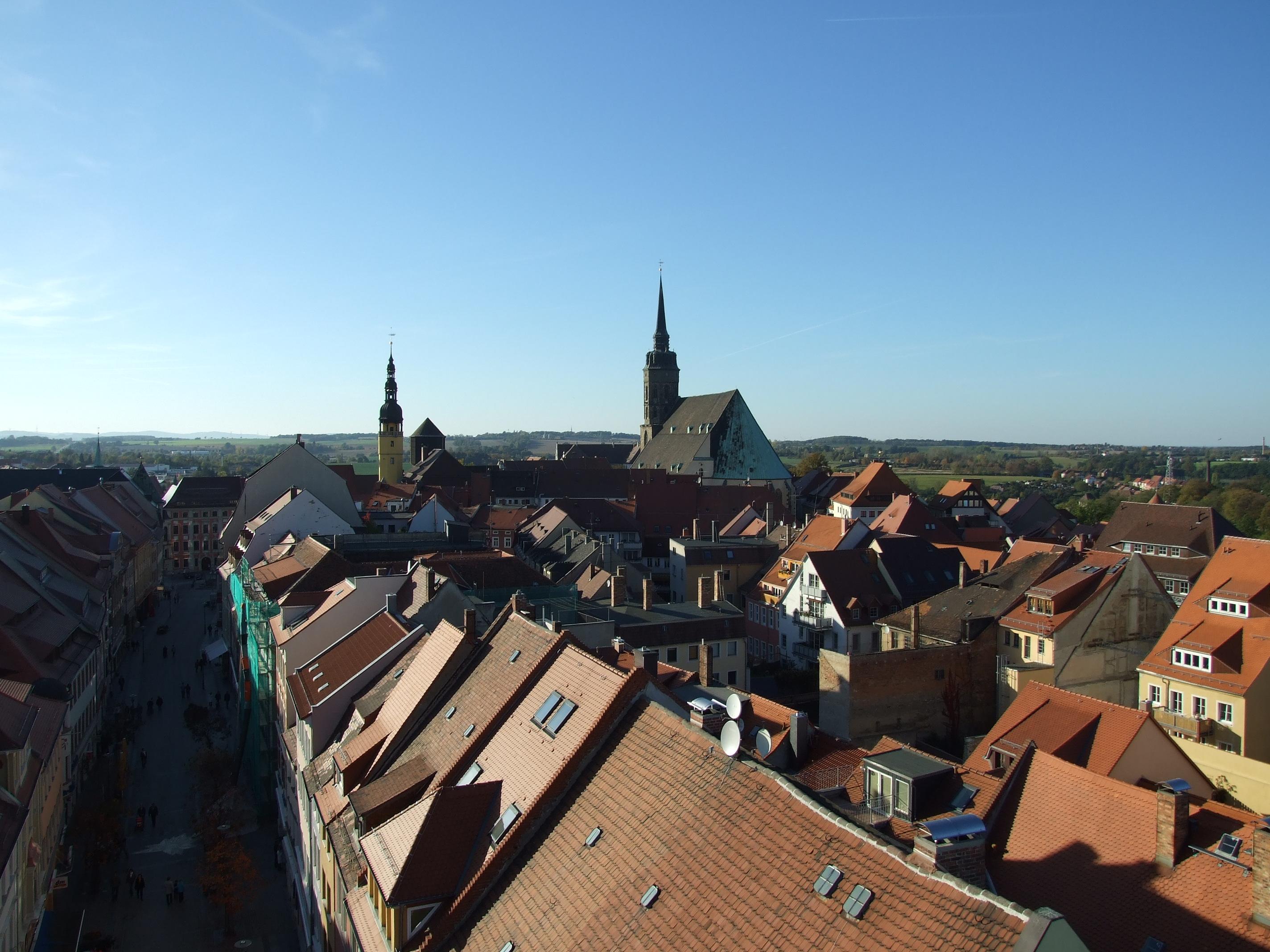 Altstadt Bautzen mit Dom St. Petri