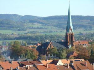 Blick vom Reichenturm in Bautzen
