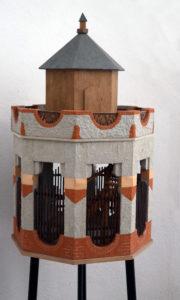 Modell der alten Camera Obscura in Hainichen