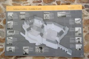 Plan von Schloss Colditz