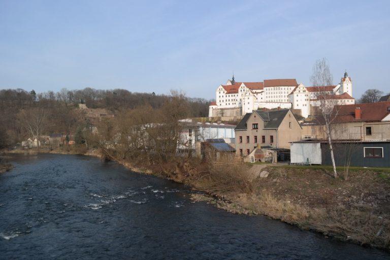 Schloss Colditz an der Zwickauer Mulde