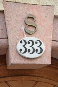 Doppelte Hausnummern in Colditz