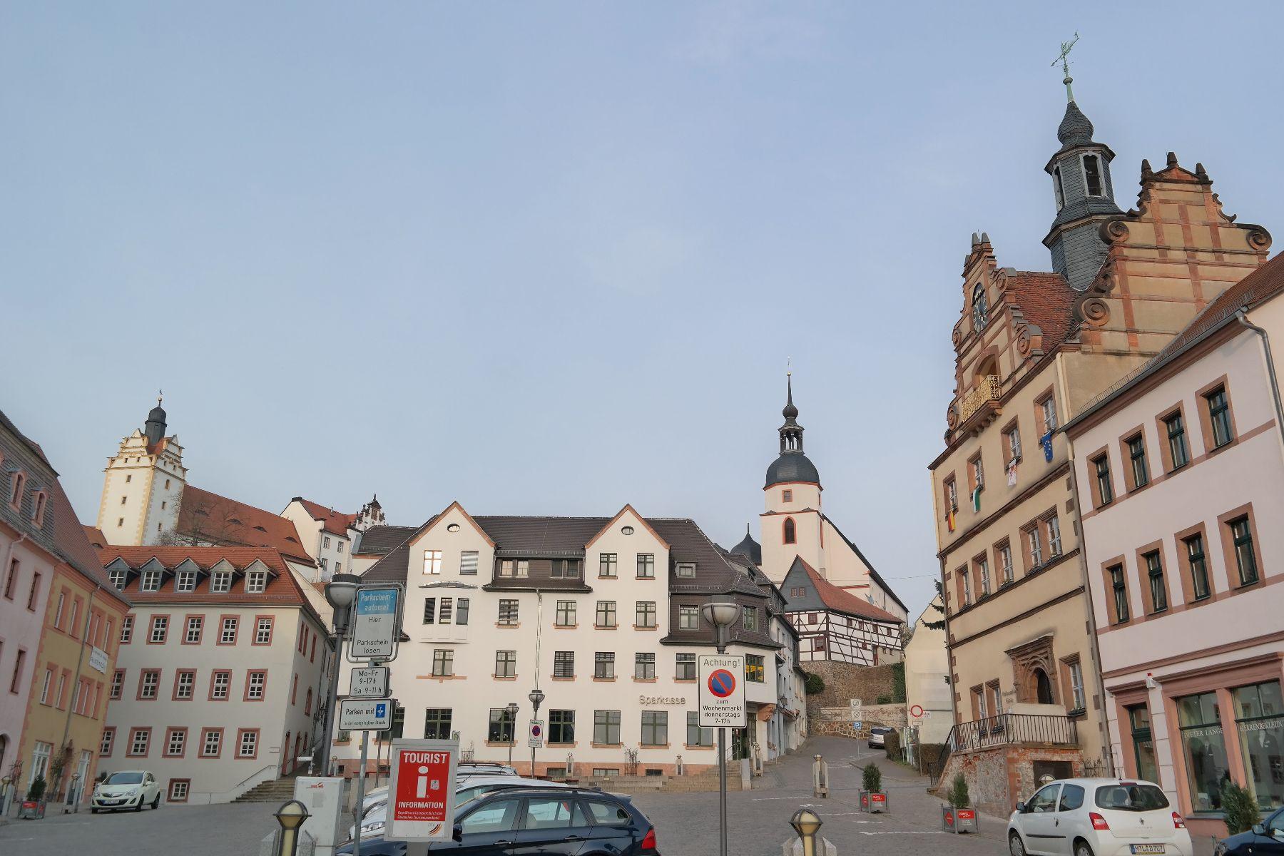 Panorama von Colditz