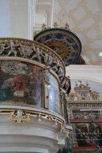 Kanzel der Schlosskirche Augustusburg