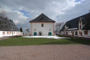 Brunnenhaus im Schloss Augustusburg