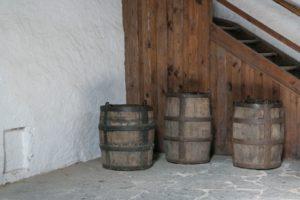 Im Brunnenhaus des Schloss Augustusburg