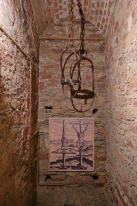 Foltermuseum im Kerker der Schloss Augustusburg